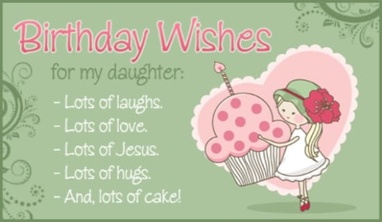 Free Birthday Daughter Ecard Email Free Personalized Birthday Cards Online