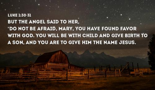 Do You Read Any Bible Verses Christmas Morning Luke 1