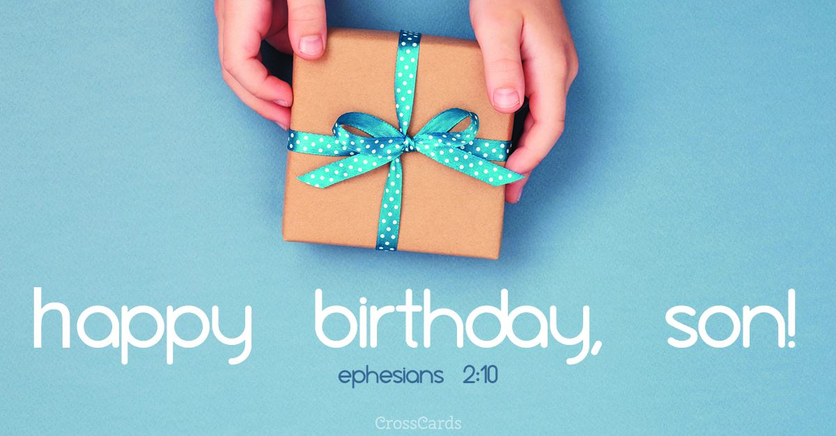 Birthday Free Cards Facebook Son