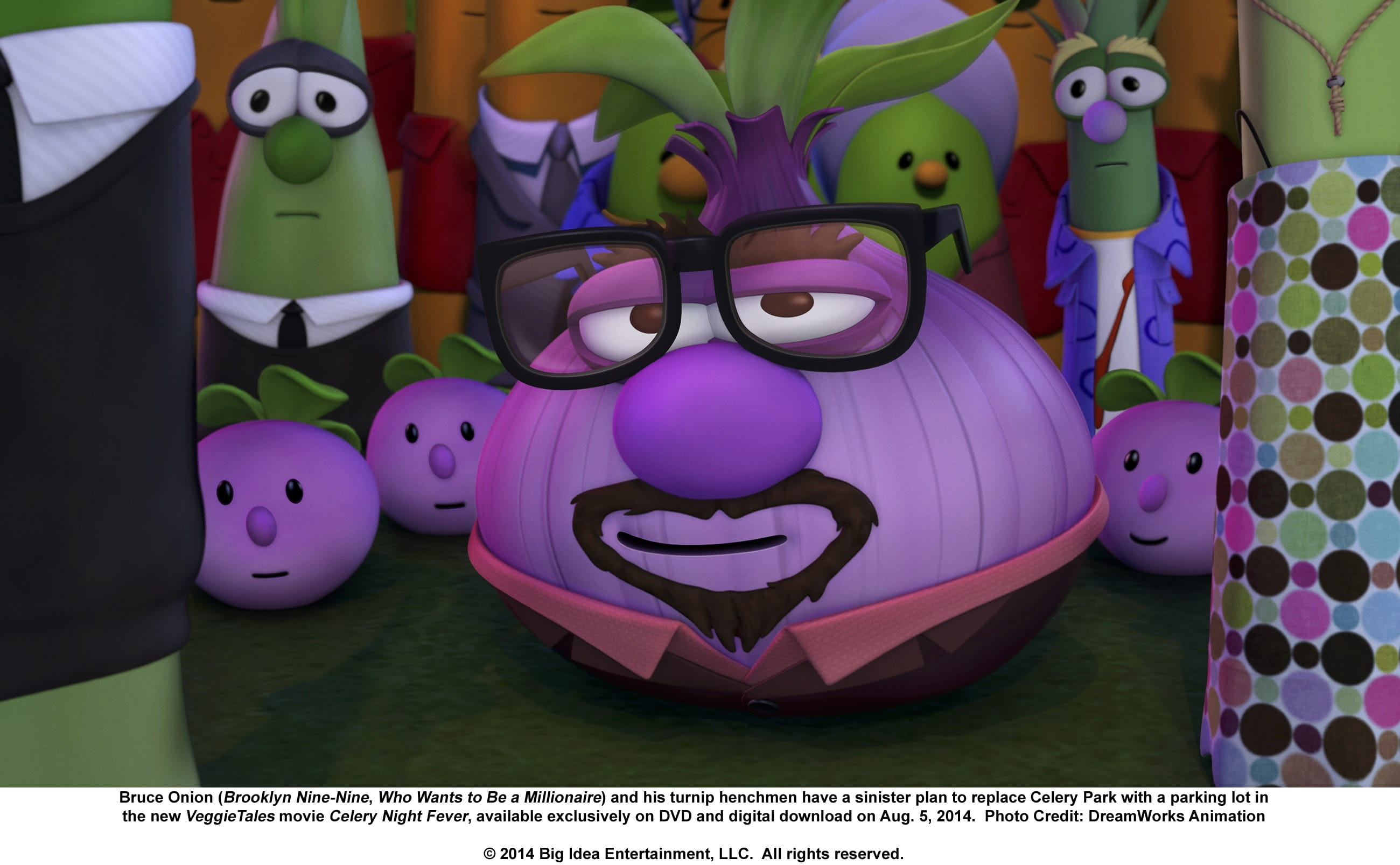 Veggietales Gets Funky In Celery Night Fever Dvd Reviews New Movie Releases Rating