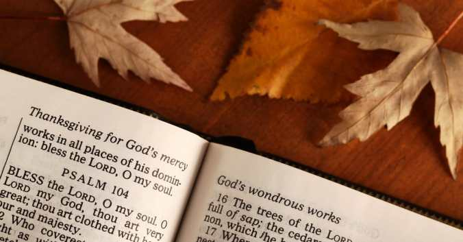 What the Bible Says about Giving Thanks (and Why It's Important to  Believers) - Bible Study