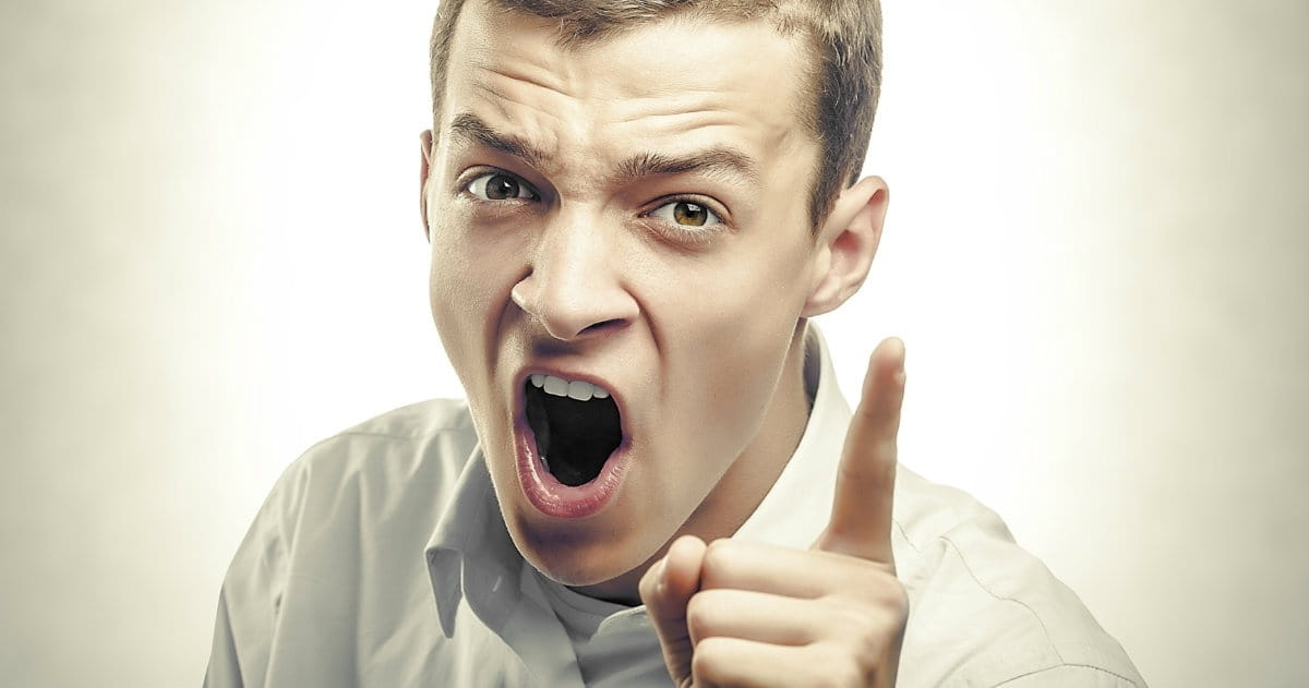 6. The Angry, Hot-tempered Man