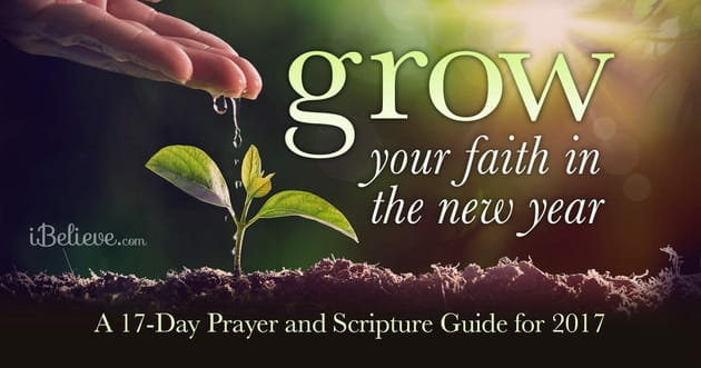 Grow Your Faith in the New Year  A 17 Day Prayer and Scripture Guide     Grow Your Faith in the New Year  A 17 Day Prayer and Scripture Guide for  2017