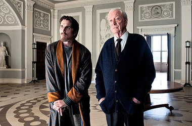 The Dark Knight Rises Christian Bale Alfred Michael Cain