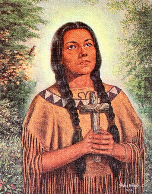 Image result for saint kateri