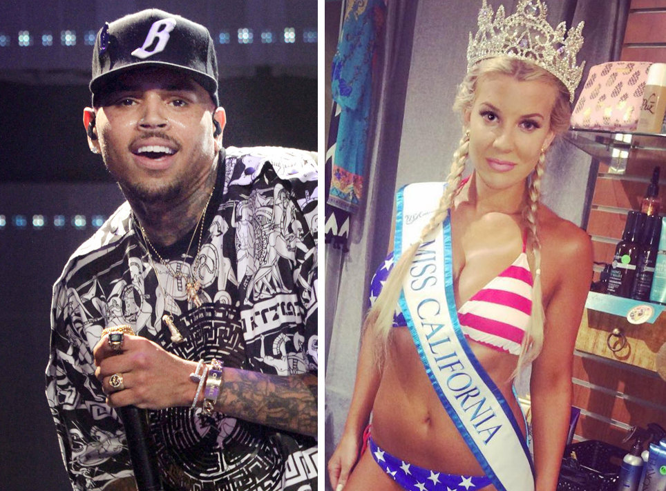 Image result for chris brown and  Baylee Curran 2016