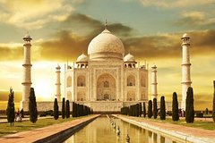 Taj Mahal Same Day from Delhi