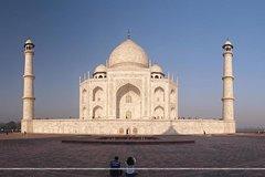 01 Day in Agra, Taj Mahal Tour by Shatabdi Express train from New Delhi