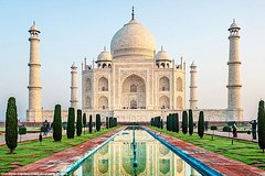 Private Day Trip To Agra In Sunrise With Taj Mahal & Agra Fort