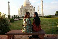 Agra Taj Mahal Tour In Sunrise and Sunset View