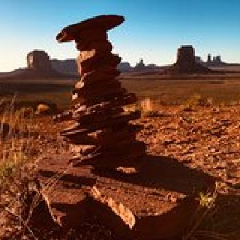 Navajo County Azerbaijan SUNSET Tour of Monument Valley 107453P7