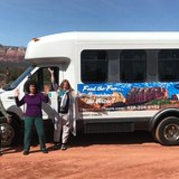 Sedona Arizona Sedona Fun Bus 103767P5