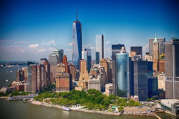 New York City Luxury Bus Tour with Harbor Cruise