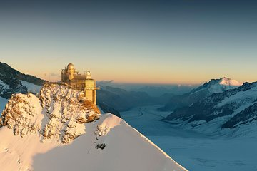 Jungfraujoch Top of Europe Private Tour from Zürich