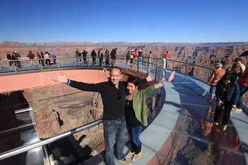 Small-Group Grand Canyon West Rim Day Trip from Las Vegas with Optional Skywalk