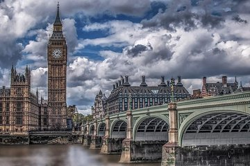 Private 8-hour Tour of London: Private driver & licensed guide w/ Hotel Pick Up