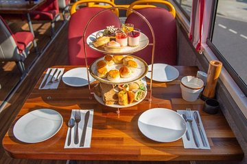 Afternoon Tea Bus with Panoramic Tour of London– Lower Deck