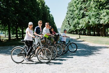 Versailles Domain Guided Day Bike Tour with Palace Entrance from Paris by Train