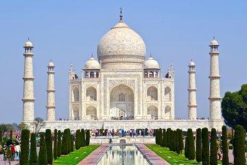 Taj Mahal & Agra Fort with lunch at viewing Taj Mahal