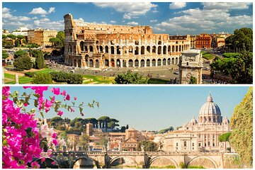 Rome Combo Tour Vatican and Colosseum with Ancient Rome