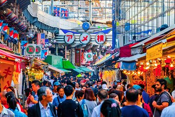 Tokyo Shopping Street Hopping Private Tour with Nationally Licensed Guide