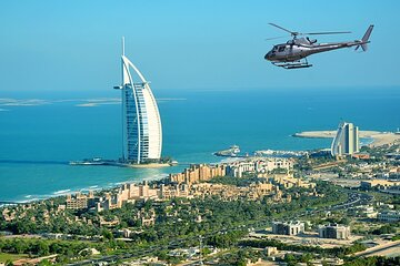 Luxury Helicopter Sightseeing Tour in Dubai