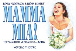 Mamma Mia ! Spectacle théâtral , Londres - 2021