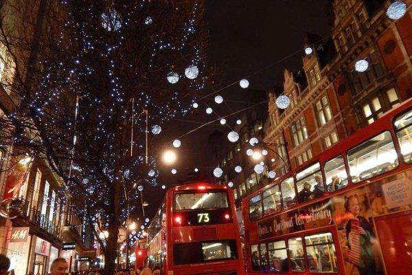 christmas lights london 2019 # 13
