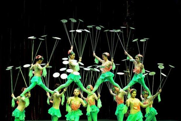 Show acrobático em Pequim e excursão noturna com banquete no ...
