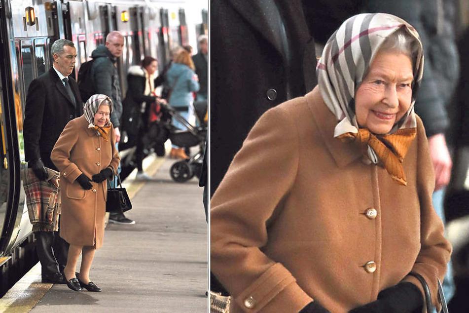 Darum Nimmt Die Queen Ausnahmsweise Mal Den Zug Tag24