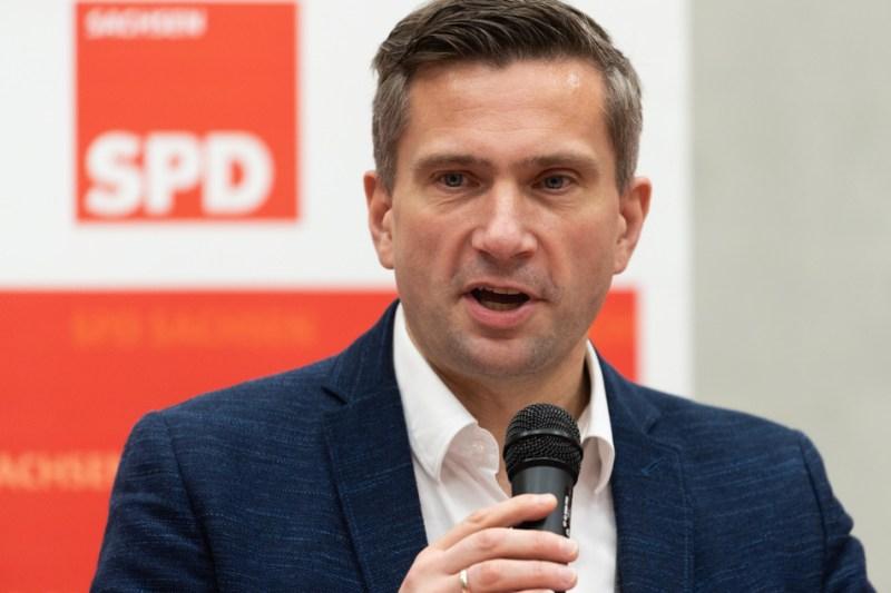 Saxony's Minister of Economic Affairs Martin Dulig (SPD).
