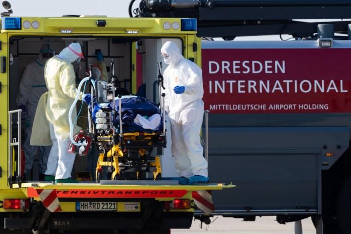 Mehrere Patienten wurden aus Frankreich nach Dresden eingeflogen. Einer von ihnen kann nun entlassen werden. (Archive picture)