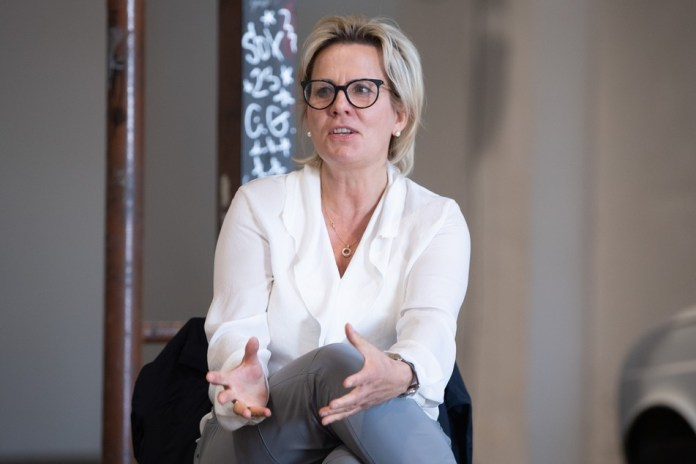 Barbara Klepsch (54, CDU), Ministerin für Kultur und Tourismus in Sachsen