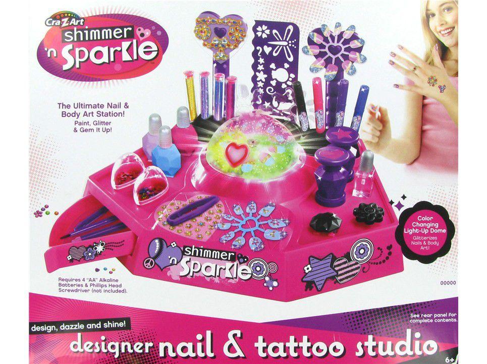 Shimmer N Sparkle Nail Design