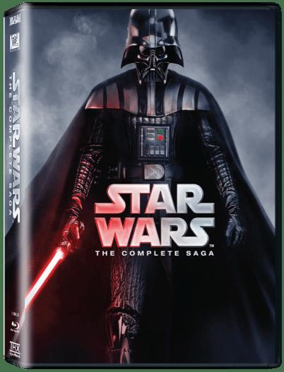 Star Wars Complete Saga Dvd Collection