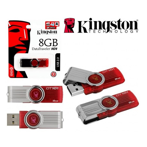 USB Kingston 8GB 2.0 Data Traveler 101G2