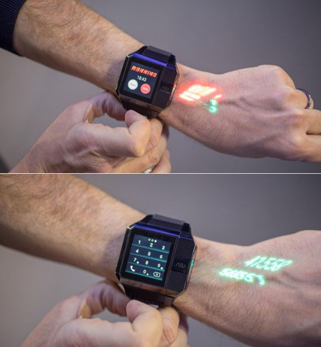 Smartwatch Projector