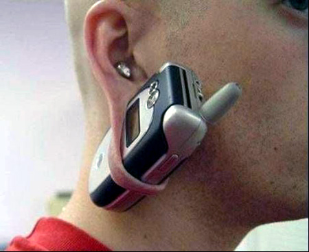 cell phone ear