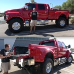 Up Close Look At The Ford F 650 A 150k Super Truck You May Not Have Known Existed Techeblog