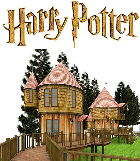 Harry Potter j K Rowling Tree House