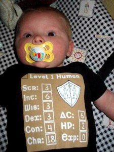 baby as level 1 human