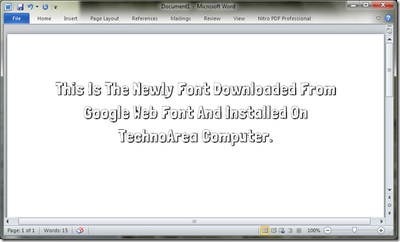 Google_Web_Font_On_MS_Word