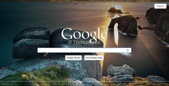 Google_Homepage_With_Bing_Wallpaper