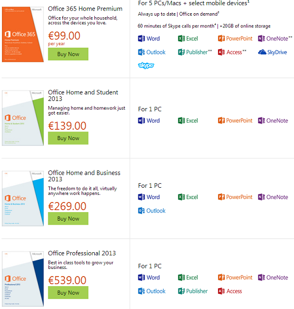 MS_Office_365_And_2013_Pricing