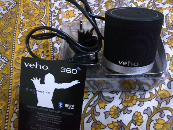 Got my #Veho Bluetooth speakers, soon review it