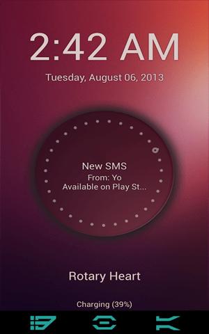 Ubuntu Touch Lockscreen