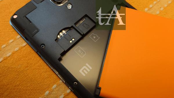 Xiaomi Redmi Note 4G SIM Slot