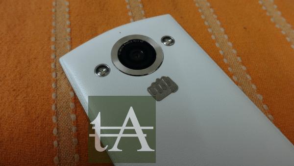 Micromax Canvas Selfie Rear Camera