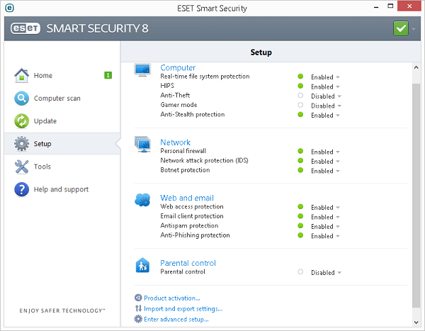 Eset Smart Security 8 Tools