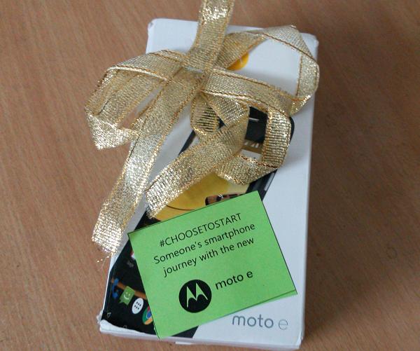 Motorola Moto E Gift
